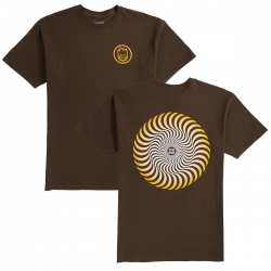 SF TEE CLSC SWIRL FADE CHOC L - Click for more info