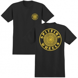 SF TEE OG CIRCLE OUTLINE BLK X - Click for more info