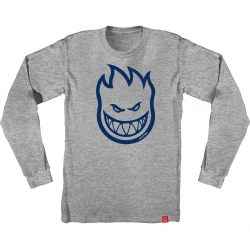 SF LS TEE BIGHEAD HTH/BLU XL - Click for more info