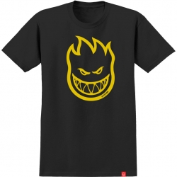 SF YT TEE BIGHEAD BLK/YEL YM - Click for more info