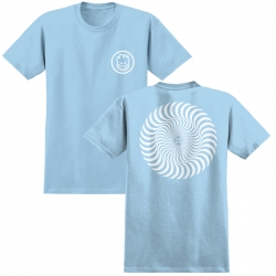SF YT TEE CLSC SWRL PBLU/WT L - Click for more info