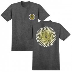SF TEE CLSC SWIRL FADE CHAR M - Click for more info