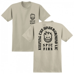 SF TEE STEADY ROCK SAND L - Click for more info