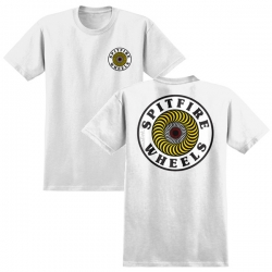 SF YT TEE OG CIRCLE WHT/YL YS - Click for more info
