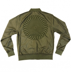 SF JKT CLSC SWIRL BOMBR ARMY L - Click for more info