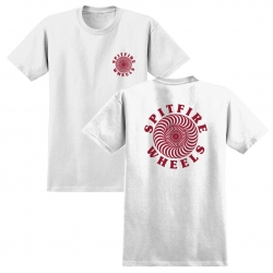SF TEE OG CLASSIC WHT/RD M - Click for more info