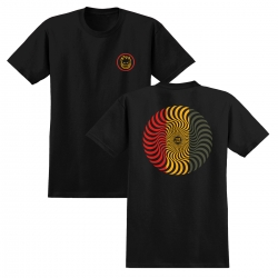 SF TEE CLSC SWIRL BLK/RD/GN M - Click for more info