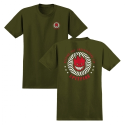 SF YT TEE KTUL GRN/RD YM - Click for more info