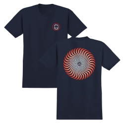 SF YT TEE CLSC SWL FD NV/RD YL - Click for more info