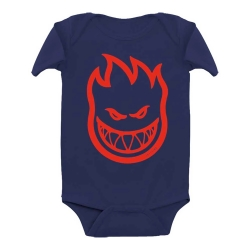 SF YT ONESIE BIGHEAD NVY/RD 6M - Click for more info