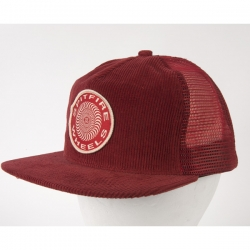 SF CAP TRKR OG CLSC PATCH RED - Click for more info