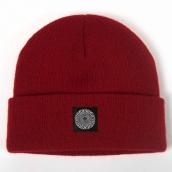 SF BEANIE CLASSIC CUFF RED - Click for more info