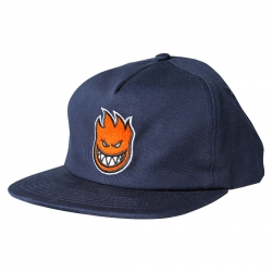 SF CAP ADJ BIGHEAD FILL NVY/RD - Click for more info