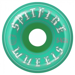 SF WHL OLD ENGLISH TURQ 54MM - Click for more info