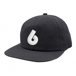 BH CAP ADJ B LOGO BLK - Click for more info