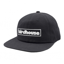 BH CAP ADJ BAR LOGO BLK - Click for more info