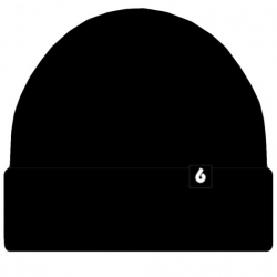 BH BEANIE B LOGO BLK - Click for more info