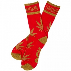 DGK SOCK STAY SMOKIN RED/GOLD - Click for more info