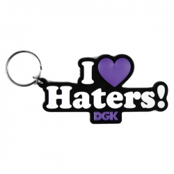 DGK KEYCHAIN HATERS PURPLE - Click for more info