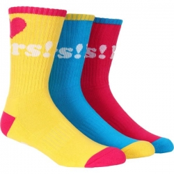 DGK SOCK HATERS 13 3PK - Click for more info
