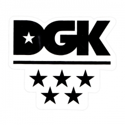 DGK STKR ALL STAR 10PK - Click for more info