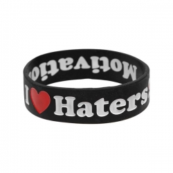 DGK BRACELET HATERS BLK - Click for more info