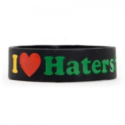 DGK BRACELET HATERS RASTA - Click for more info