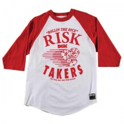 DGK 3/4 TEE RSKTKRS WT/RD S - Click for more info