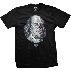 DGK TEE DEAD PRES BLK M - Click for more info
