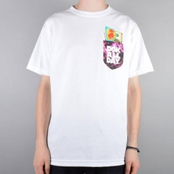 DGK TEE ESSENTIALS WHT XXL - Click for more info