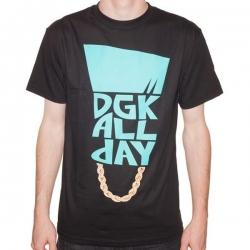 DGK TEE FLAT TOP BLK XXL - Click for more info