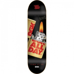 DGK DECK FIRE IT UP 8.1 - Click for more info