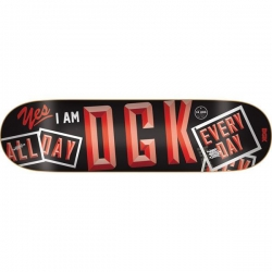 DGK DECK OPEN RED 8.5 - Click for more info