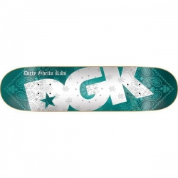 DGK DECK BANDANA TURQOISE 8.06 - Click for more info