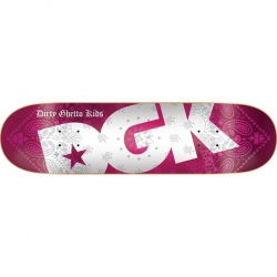 DGK DECK BANDANA RED 8.25 - Click for more info