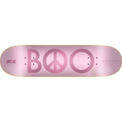 DGK DECK PEACE BOO PINK 8.25 - Click for more info