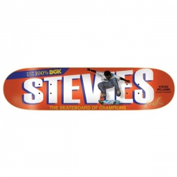 DGK DECK CHAMPION WILLIMS 8.25 - Click for more info