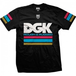 DGK TEE STACKED BLK L - Click for more info