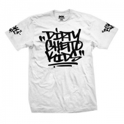 DGK TEE BLASTED WHT M - Click for more info