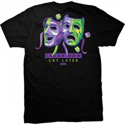 DGK TEE LAUGH NOW BLK M - Click for more info