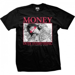 DGK TEE MONEY OVR EVRY BLK XXL - Click for more info