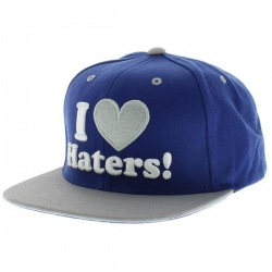 DGK CAP ADJ HATERS ROY/GRY - Click for more info