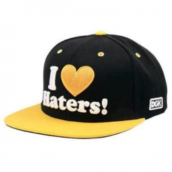 DGK CAP ADJ HATERS PITTS BLK/Y - Click for more info