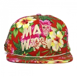 DGK CAP ADJ MAUI WOWI RED - Click for more info