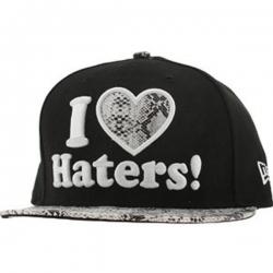 DGK CAP NE HATERS SNAKE BLK - Click for more info