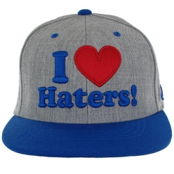 DGK CAP ADJ HATERS HTHR/ROY/RD - Click for more info