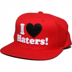 DGK CAP ADJ HATERS RED - Click for more info