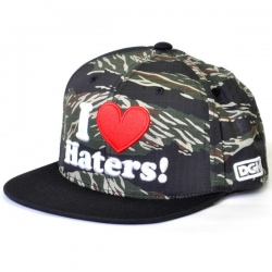 DGK CAP ADJ HATERS TIGER/BLK - Click for more info