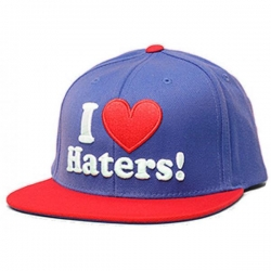 DGK CAP ADJ HATERS ROY/RED - Click for more info