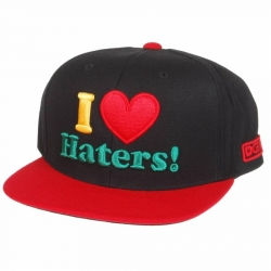 DGK CAP ADJ HATERS RASTA - Click for more info